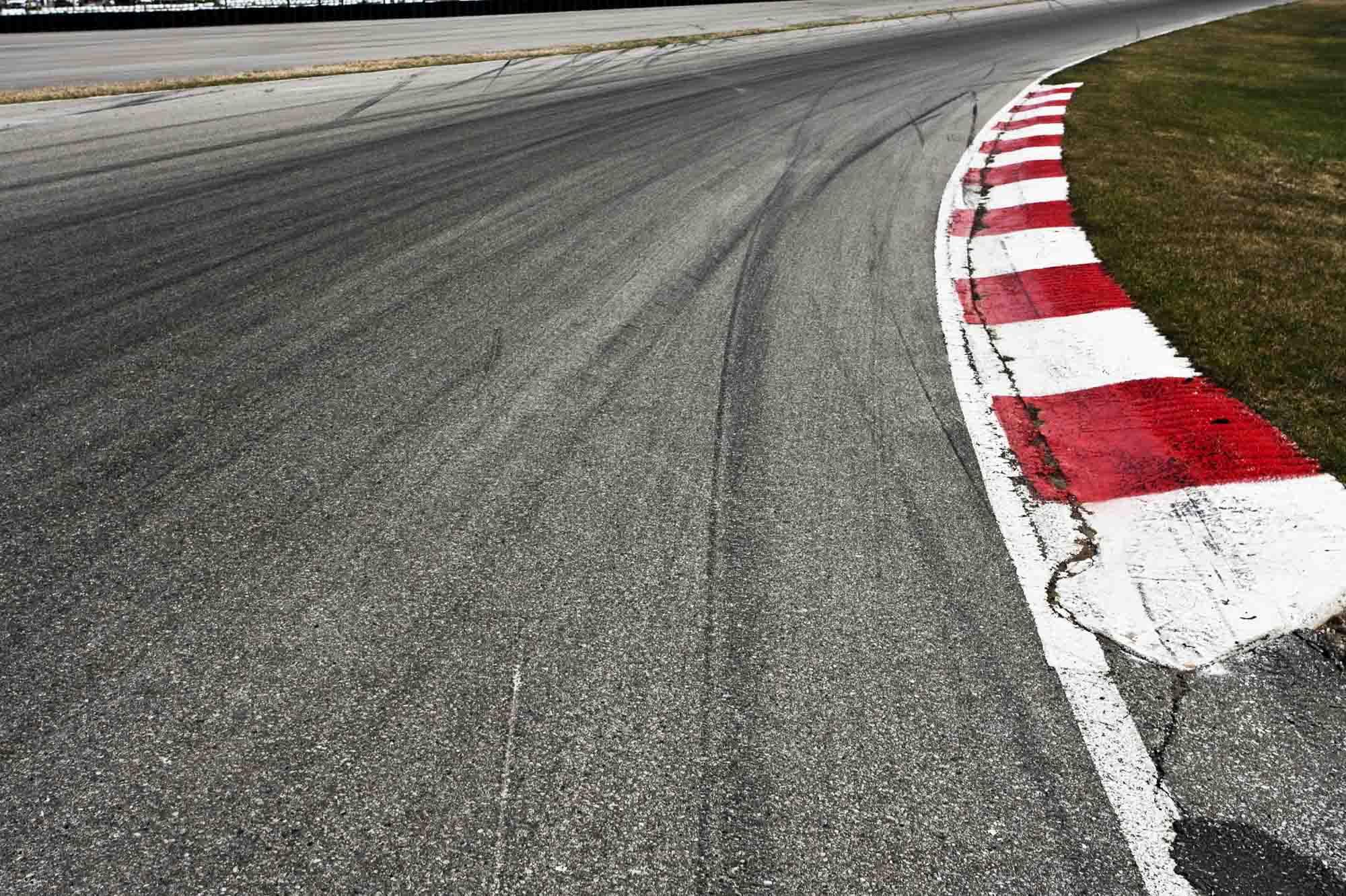 Race Car Track Wallpaper