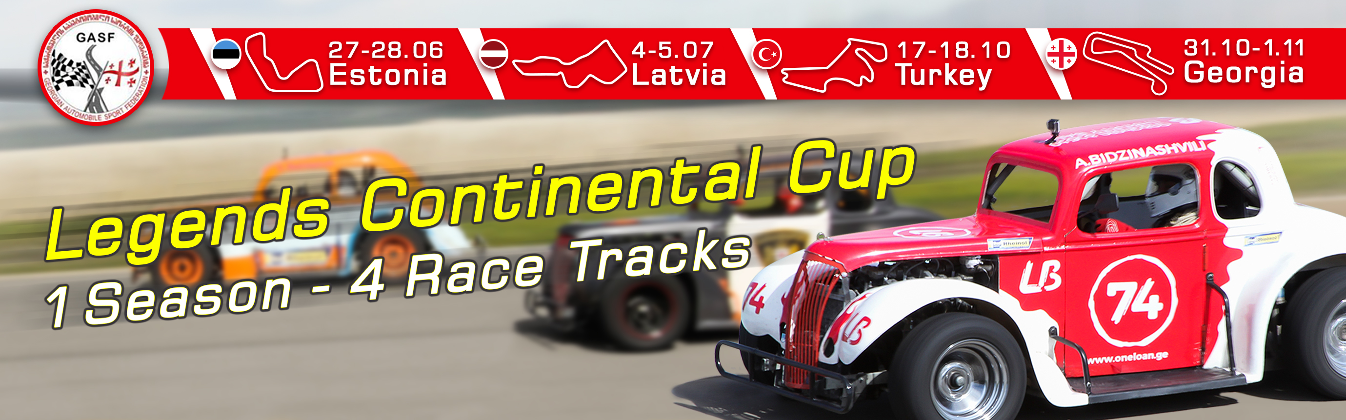 Legends Continental Cup – Rustavi International Motorpark